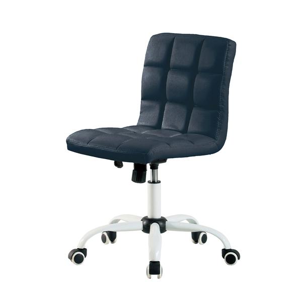 ホームチェアホワイト/HONEY(BK)【送料無料】(オフィスチェア、事務椅子、エグゼクティブチェアー、イス)