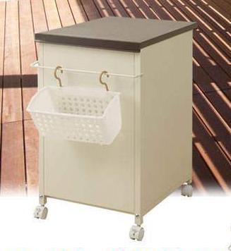 省スペース 洗濯用品収納庫 nj-0163【送料無料】(洗面収納、収納家具、洗濯機ラック、スチールラック、シェルフ)