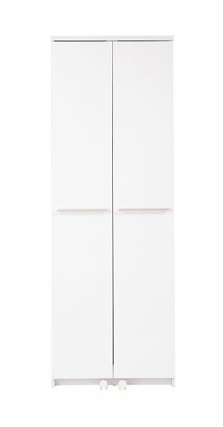 キッチンシリーズFace 大容量キッチンストッカー幅60cm  ホワイト【送料無料】(食器棚、レンジボード、キッチン収納家具)