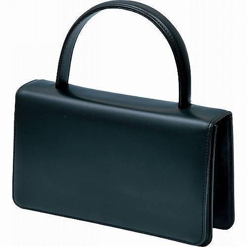 良品工房 日本製牛革フォーマルバッグ ブラック B6111-05B 【送料無料】(ハンドバッグ、フォーマルバッグ、カバン、かばん、鞄)
