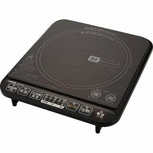 ヤマゼン IH調理器 ブラック YEA-140(B)XL376 【送料無料】