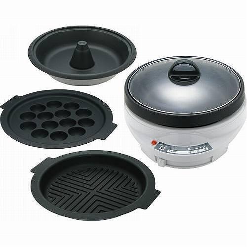 グラート グリルパンセット(4枚) GR-234CG 【送料無料】(グリル鍋、調理用品、鍋、電気グリルパン、ホットプレート)
