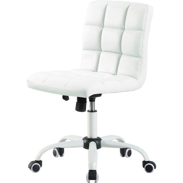 ホームチェアホワイト/HONEY(WH)【送料無料】(オフィスチェア、事務椅子、エグゼクティブチェアー、イス)shad19-8351-803-choku