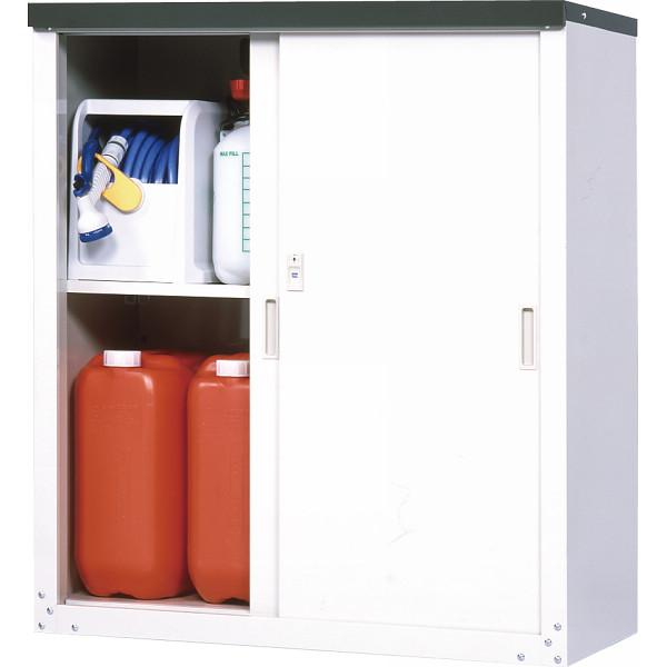 スチール収納庫/HS-102【送料無料】(物置、収納庫、ストレージ、ラック、収納ボックス、ケース、ガーデニング)