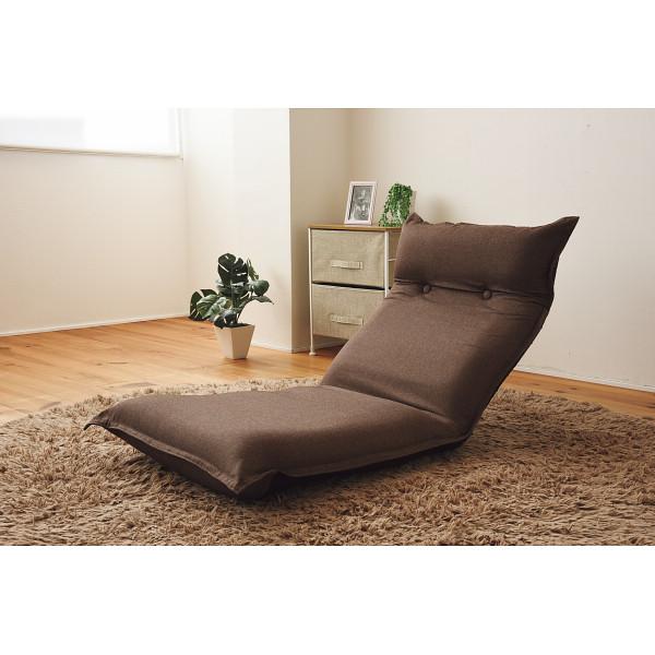 低反発リクライニングフロアチェアブラウンSS-4BR/【送料無料】(座椅子、リラックスチェア、パーソナルチェアー、チェア)