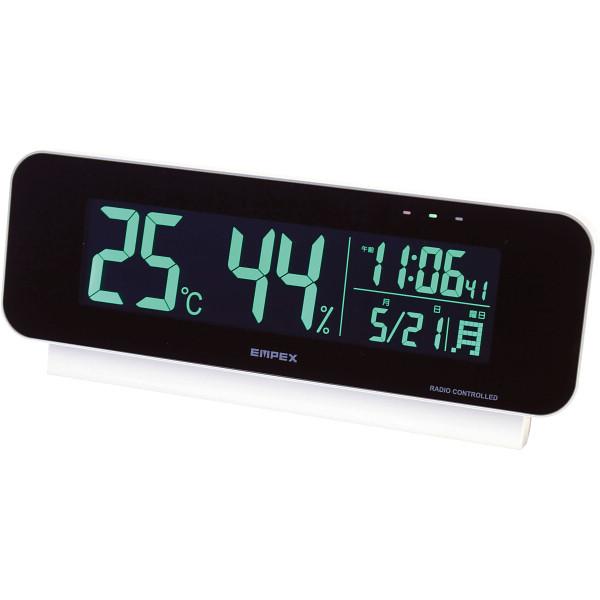 電波時計付デジタル温湿度計 TD-8262【送料無料】(置時計、目覚し時計、目覚時計、電波時計、アラームクロック)
