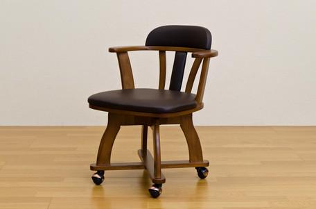 (離島/日時指定不可)DENVER キャスター付チェア(1脚)【送料無料】(チェアー、リビングチェアー、椅子)