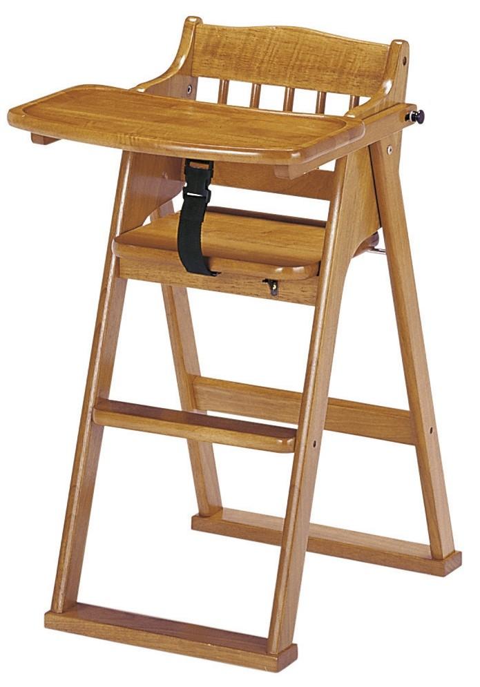【折畳ができて組立不要】 チャイルドチェア ブラウン (CHC480BR) 【送料無料】(ベビーチェア、キッズチェアー、イス、椅子)