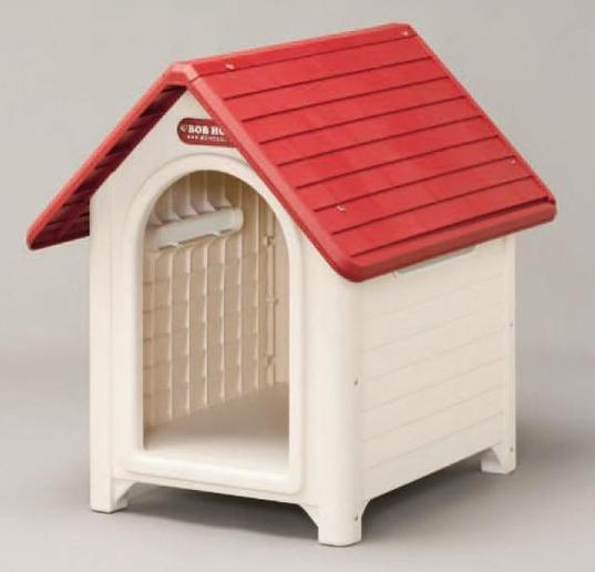 送料無料 水洗いしてもサビず腐らないプラスチック製犬舎 ボブハウスL 爆買いセール ペット用品 ゲージ 犬小屋 ペットハウス 犬舎