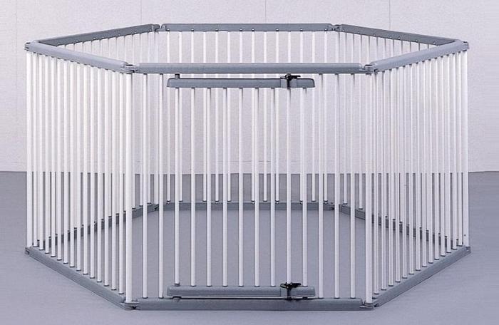 パイプ製ペットサークル UC-126 (W2400×D2080×H1200)【送料無料】(ペットゲージ、ペットサークル、ペットハウス、ペット用品)