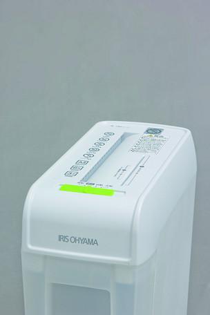 シュレッダー ホワイト P6HC 【送料無料】(シュレッダー、オフィス用品、事務用品、防犯グッズ)