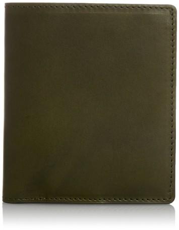 【レザー】【日本製】【3色】 軽量デザイン2つ折り財布イタリア産オイルレザー使用 日本製 (59206) 【送料無料】(二つ折り財布、ウォレット)(ランキング受賞・二つ折り財布(小銭入れあり)その他8位、2015/10/7デイリー)