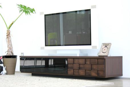 コルク 160 ローボード (11003451) 【送料無料】(ローボード、キャビネット、TV台、テレビ台、AVボード、テレビボード)