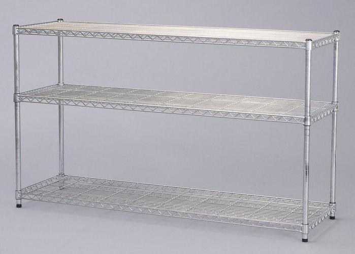 メタルラック MR-1509 (W1500×D460×H900)【送料無料(スチールシェルフ、メタルシェルフ、メタルラック、本棚、収納)