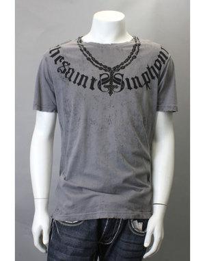 【THE SAINTS SINPHONY/セインツシンフォニー】TEQUILA SUNRISE・Tシャツ(半袖・クルーネック・ホワイト・WHT)/メンズ【インポート】【セレカジ】【正規品】