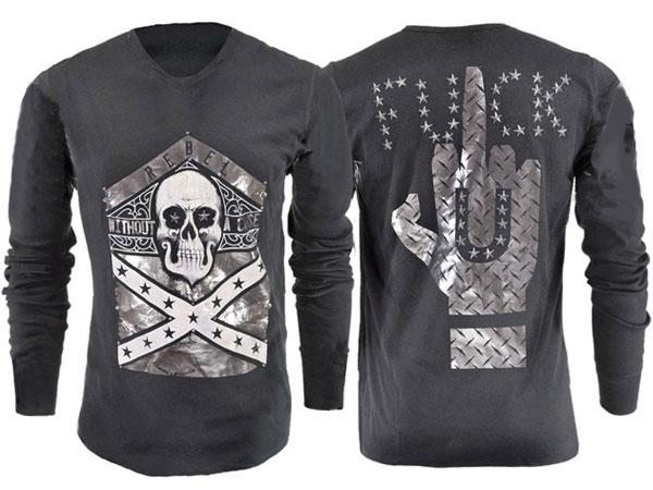 新作【THE SAINTS SINPHONY/セインツシンフォニー】ID LOVE TO・Tシャツ(長袖・ブラック・BLK)/メンズ【インポート】【セレカジ】【正規品】