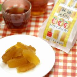 青森県産ふじの食感を活かした林檎ドライフルーツ ふじのカットりんごを糖蜜につけ込み 食感を生かしてます よく冷やすか凍らせても美味しいです 限定特価 送料込み 超半生ドライアップル 産地直送 お得なキャンペーンを実施中 上ボシ武内製飴所 林檎のふるさと4袋入り