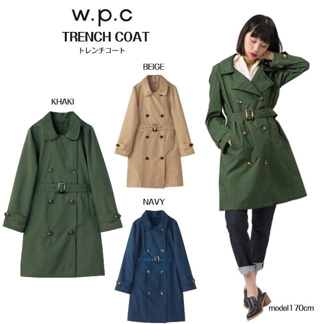 (超ポイントUP祭)W.P.C. ワールドパーティー Rain Tranch Coat レイントレンチコート r-1072 キャッシュレス5%還元(スーパーDEALポイント15倍)
