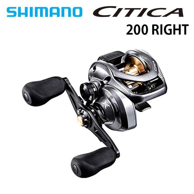 SHIMANO(シマノ) 廃盤特価品 15CITICA 200 シティカ 右巻き ベイトリール バスフィッシング ロックフィッシング 釣り