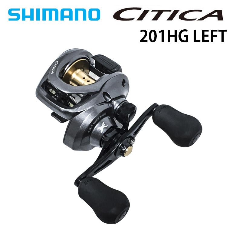 SHIMANO(シマノ) 廃盤特価品 15CITICA 201HG シティカ 左巻き ベイトリール バスフィッシング ロックフィッシング 釣り