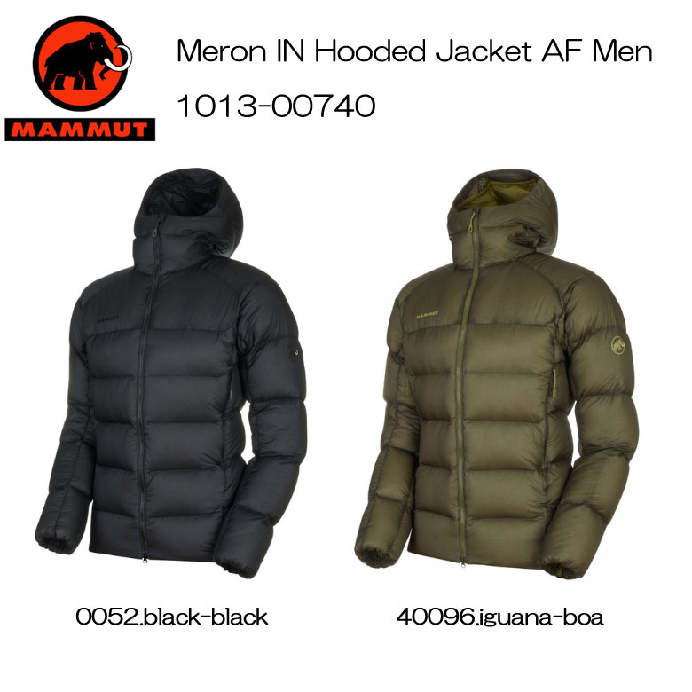 MAMMUT/マムート[Meron IN Hooded Jacket AF Men]1013-00740 送料無料
