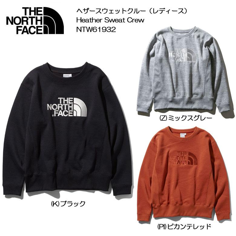 THE NORTH FACE/ザ ノースフェイス[Heather Sweat Crew/ヘザースウェットクルー(レディース)]NTW61932