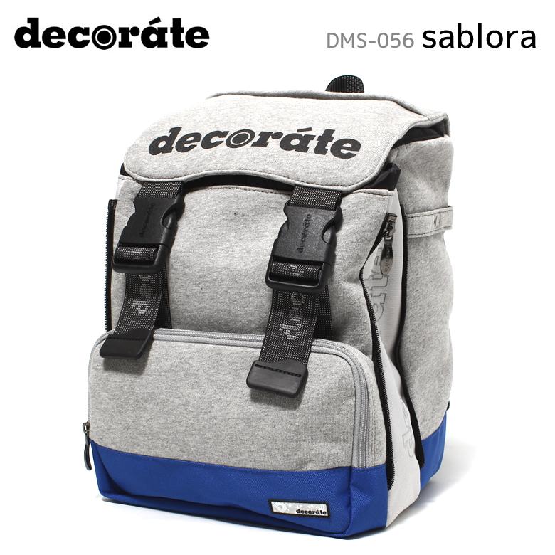 【decorate(デコレート)】【キッズバッグ】DMS-056 sablora キッズ ジュニア/Lサイズ(25L)約870g【送料無料】リュック ランドセル キッズバッグ ジュニアリュック アウトドア