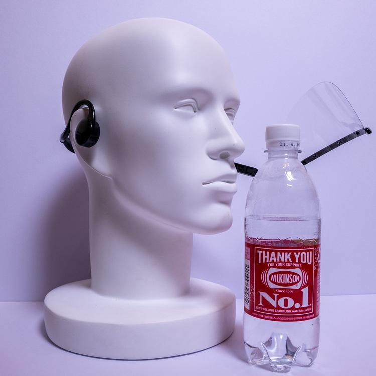 ヘッドセットマスク透明マスクマウスシールド