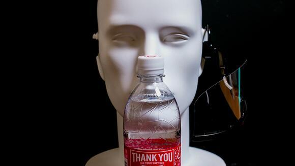 マウスシールド透明マスクヘッドセットマスク