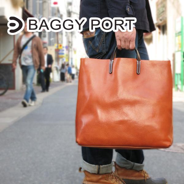 BAGGYPORT(バギーポート) オイルレザー トートバッグ NIS-2004 【本革】【A4サイズ対応】【シンプル】【手提げ】【ビジネス】【送料無料】【代引き無料】【smtb-ms】