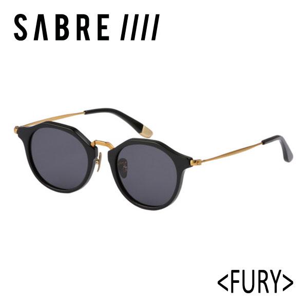SABRE,セイバー/サングラス/18FA/FURY・フューリー/SS8-506B-G-J/BLACK GLOSS/GREY LENS/ボストン 【あす楽 対応】