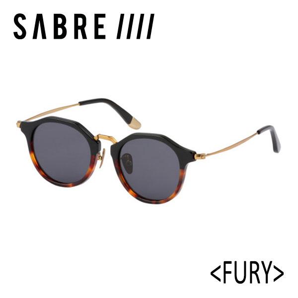 SABRE,セイバー/サングラス/18FA/FURY・フューリー/SS8-506TT-G-J/TWO TONE/GREY LENS/ボストン 【あす楽 対応】