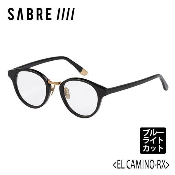 SABRE,セイバー/眼鏡/19FA/EL CAMINO-RX PC・エルカミーノ/SS7-508B-BC-J BLK GROSS/BLCUT CLEAR/ブルーライトカット/クリアレンズ 【あす楽 対応】