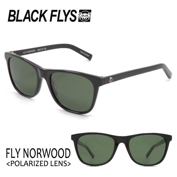 BLACKFLYS,ブラックフライ/18/FLY NORWOOD Polarizedレンズ,フライノーウッド 偏光レンズ/BF-1193-03/BLACK/GREEN POL/サングラス 【あす楽 対応】