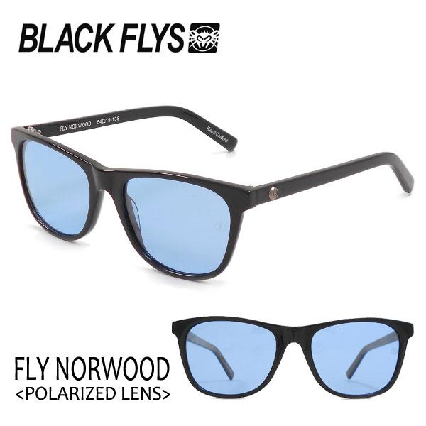 期間限定今なら送料無料 BLACKFLYS 2018年NEW 絶妙なサイズ感と細めのテンプルでフィット感も軽くクセの無いベーシックなウェリントン FLY NORWOOD ブラックフライ 70%OFFアウトレット 18 Polarizedレンズ フライノーウッド LIGHTBLUE POL BLACK 偏光レンズ 対応 サングラス BF-1193-04 あす楽 ライトレンズ