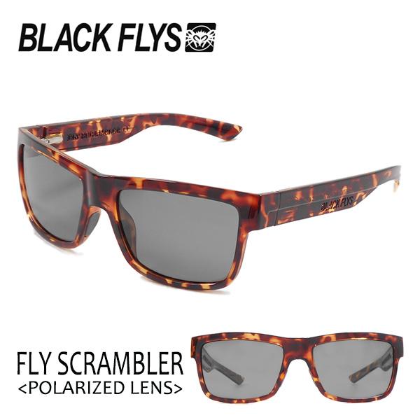 BLACKFLYS,ブラックフライ/18/FLY SCRAMBLER Polarizedレンズ,フライスクランブラー 偏光レンズ/BF-1196-04/TORT/LIGHT GREY POL/サングラス 【あす楽 対応】