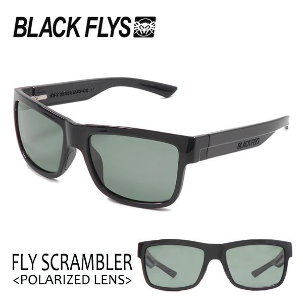 BLACKFLYS,ブラックフライ/18/FLY SCRAMBLER Polarizedレンズ,フライスクランブラー 偏光レンズ/BF-1196-05/BLACK/LIGHT G15 GREEN POL/サングラス 【あす楽 対応】