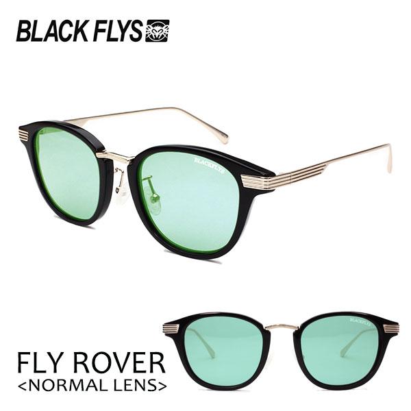BLACKFLYS 2020年NEWモデル ボストンシェイプに羽をモチーフにした衣装がテンプルサイドに流れるようなデザインのフライローバー ブラックフライ 20 FLY ROVER フライローバー ノーマルレンズ BF-15023-01 BLACK-GOLD サングラス 対応 GREEN 授与 あす楽 ユニセックス LT ついに入荷 ボストン