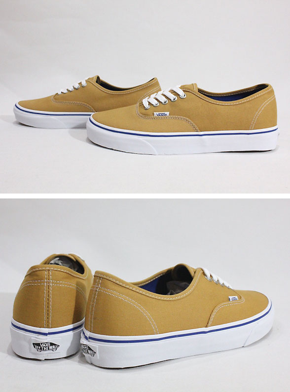 bdf22ee4ea Vans vans us planning and overseas limited   2016 FALL CLASSICS model   Authentic  amp  authentic  AMBER GOLD TRUE WHITE  amp  mustard 10P06Aug16