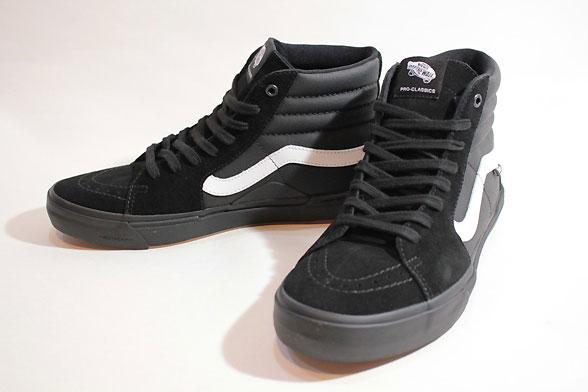 Vansバンズ/20SU/PRO SKATE/SK8-HI PRO BMX・スケートハイプロ/BLACK/WHITE・ブラック×ホワイト/スエード/メンズ/スニーカー/メンズ 【あす楽 対応】