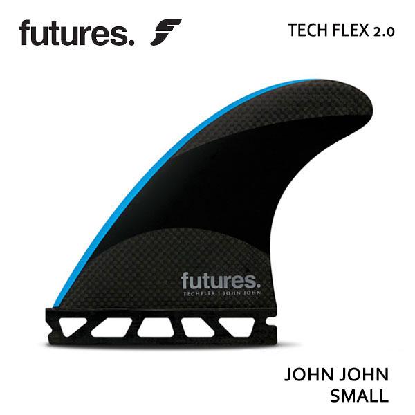 Future Fin,フューチャーフィン/トライフィン/John John Florenceシグネチャー/TECHFLEX 2.0 JOHN JOHN/BLACK/BLUE/Sサイズ/ショートボード/サーフィン/日本正規代理店品 【あす楽 対応】