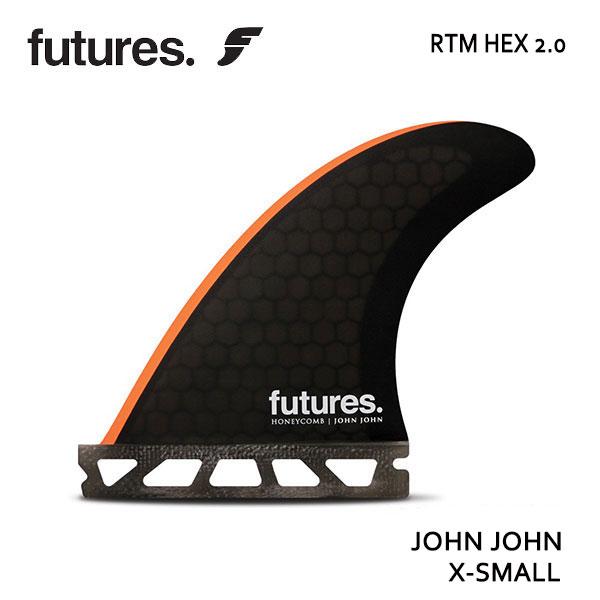 Future Fin,フューチャーフィン/FIN,トライフィン/John John Florence/RTM HEX 2.0 JOHN JOHN/BLACK/ORANGE/GROM/XS/ショートボード/日本正規代理店品 【あす楽 対応】