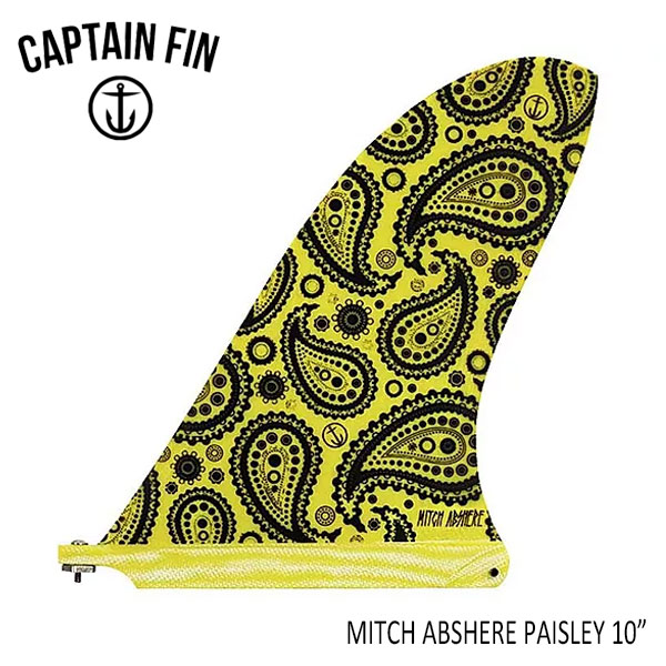 "CAPTAIN FIN・キャプテンフィン/ロングボード・ボックス用フィン/ミッチアブシャー・MITCH ABSHERE""PAISLEY""10"