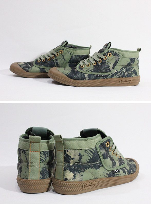 TCSS, tie sheets es /TCSSxVOLLEY / 2016 collaboration shoes SUMMER / sneakers /TEXTA HIGH TOP/VOLLEY1/CAMO, camouflage 10P06Aug16