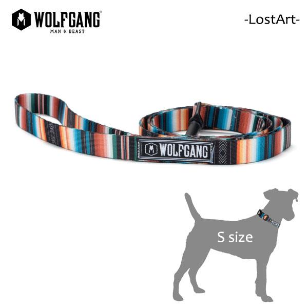ネコポス 日時指定 代引き不可 アメリカ発ライフスタイルブランド 犬用リード WOLFGANG MAN BEAST ウルフギャング 犬用 リード MADE 流行のアイテム LEASH Sサイズ リーシュ LostArt AMERICAN 激安 首輪 小型犬