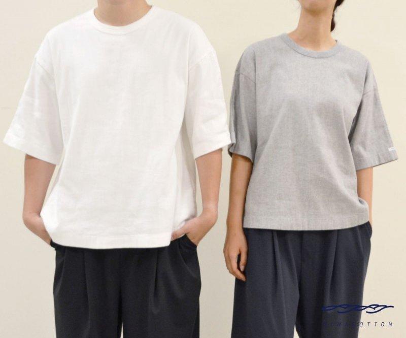 ユニセックス ヘビーウェイトタイプ 夏物SALE 保証 ビワコットン 配送員設置送料無料 ヘビーウェイトビッグTシャツ