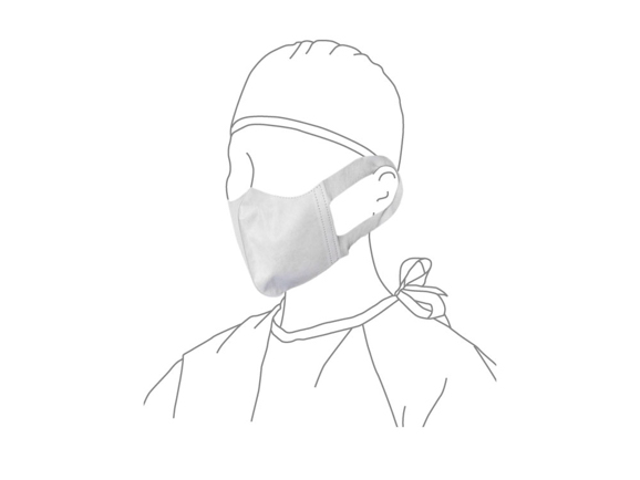 ★送料無料★ディスポ3Dマスク - S 不織布耳掛 20箱/1000枚入 AWL