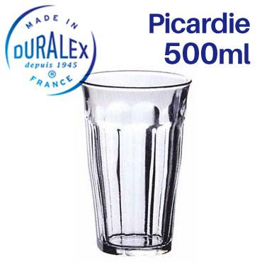 世界中の食卓で親しまれている DURALEX グラス タンブラー 本物◆ コップ デュラレックス 25%OFF ピカルディー KO1 業務用 PICARDIE SALE 500ml