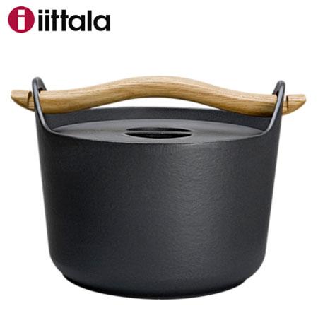 【あす楽対応】Iittala イッタラ Sarpaneva サルパネヴァ キャセロール3L / 鋳物鍋 IH対応 北欧