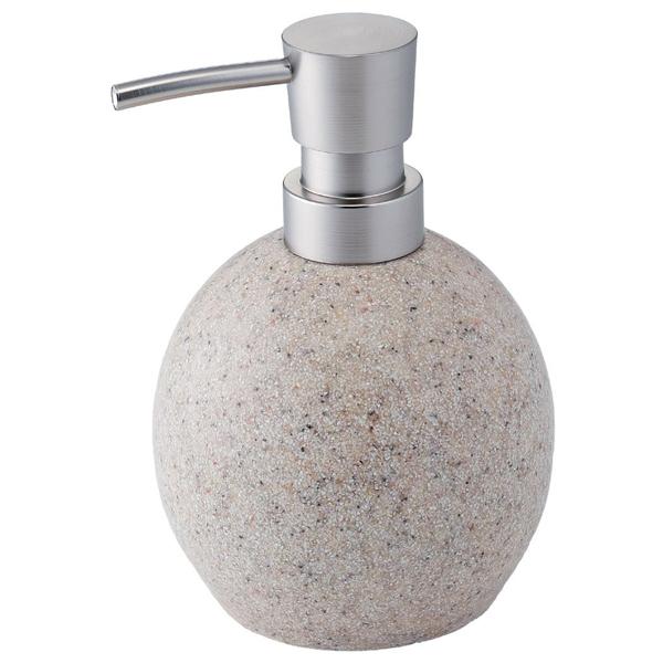丸いかたちがかわいいソープディスペンサー SALUS セーラス 商店 本物 marmo ディスペンサー SL 詰替えボトル ソープディスペンサー